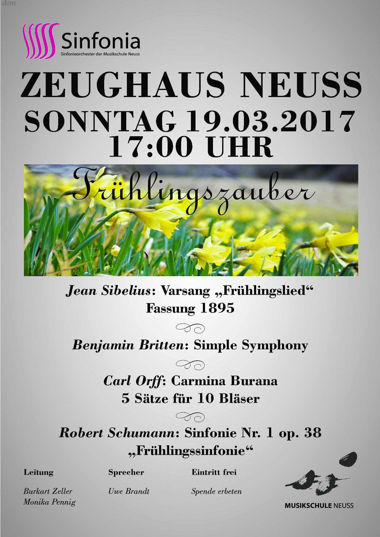 Plakat Konzert 2017_03_19